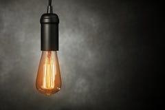 Vintage light bulb Stock Photos