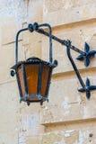 Vintage light in Mdina, Malta Royalty Free Stock Image