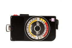 Vintage light meter Stock Images