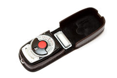 Vintage light meter Stock Image