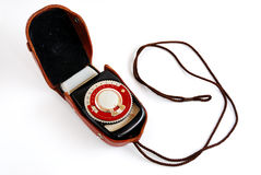 Vintage light meter Stock Photo
