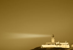 Vintage Lighthouse Portugal Stock Photo