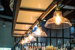 Vintage Lighting decor ( Filtered image processed vintage effect Stock Photos