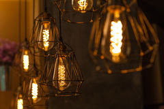 Vintage Lighting decor Royalty Free Stock Photo