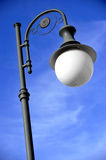 Vintage lighting pole Royalty Free Stock Photos
