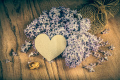 Vintage Lilac flowers Royalty Free Stock Images