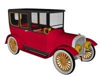 Vintage limousine - 3D render Stock Images