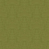 Vintage linear damask pattern with thin lines Royalty Free Stock Images