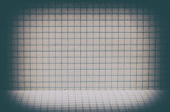 Vintage lined paper background. With floor Stock Image