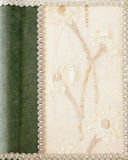 Vintage linen. Close up shot of vintage style linen Royalty Free Stock Photo