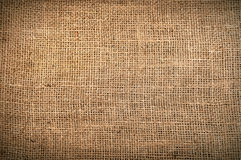 Vintage linen fabric texture Royalty Free Stock Photos