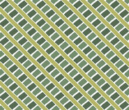 Vintage lines pattern. Green Royalty Free Stock Photo