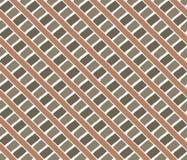 Vintage lines pattern. Orange green Stock Photo