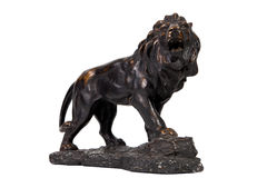 Vintage lion statue home decoration Stock Photos