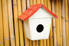 Vintage little of birdhouse Stock Image