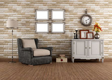 Free Vintage Living Room Stock Photos - 30124793