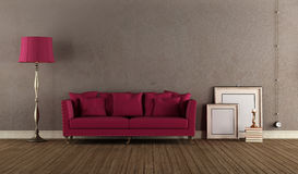 Vintage Living room Royalty Free Stock Photos