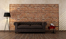Vintage livingroom Royalty Free Stock Photo