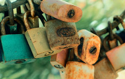 Vintage Lock Royalty Free Stock Images