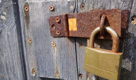 Vintage lock Royalty Free Stock Photography