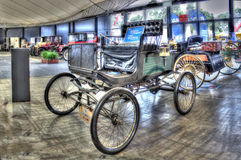 Vintage 1900 Locomobile Steamer Stock Photo