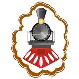 Vintage locomotive Royalty Free Stock Photos