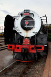 Vintage locomotive steam train Royalty Free Stock Photography