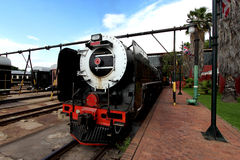 Vintage locomotive steam train Royalty Free Stock Photos