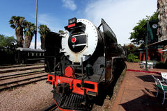 Vintage locomotive steam train Royalty Free Stock Photo