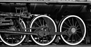 Vintage locomotive train Royalty Free Stock Images