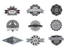 Vintage logo design Stock Image
