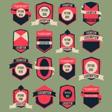 Vintage Logo Vector Set Royalty Free Stock Photography