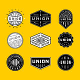 Vintage logos & badges 2 Royalty Free Stock Image