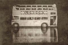 Vintage london bus Stock Photos