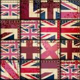 Vintage London pattern Stock Image