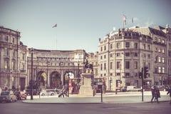 Vintage London Scene Stock Photos