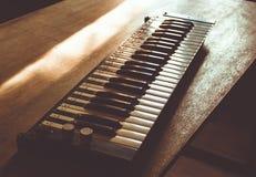 Vintage lonely sad keys Stock Images