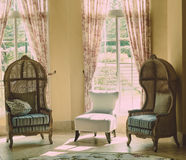 Vintage look chairs Royalty Free Stock Photos