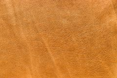 Lambskin leather. Vintage look Italian lambskin leather for background use Royalty Free Stock Images