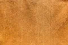 Lambskin leather. Vintage look Italian lambskin leather for background use Stock Photography