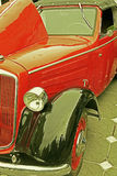 Vintage look at one old car 2 Royalty Free Stock Photography