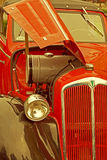 Vintage look at one old car 1 Stock Photography