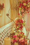 Vintage look at rustic and romantic decoration 1 Royalty Free Stock Photo