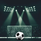 Vintage look sport backgrounds Royalty Free Stock Image