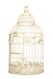 Vintage looking bird cage Stock Photo
