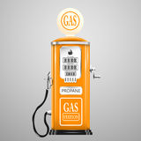 Vintage looking gas pump Royalty Free Stock Image