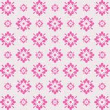 Vintage looking pink artistic floral abstract design royalty free stock images