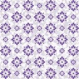 Vintage looking purple artistic floral abstract design royalty free stock images