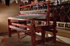Vintage loom indoors Stock Photos