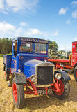 Vintage lorry at Roseisle  Rally. Stock Photo